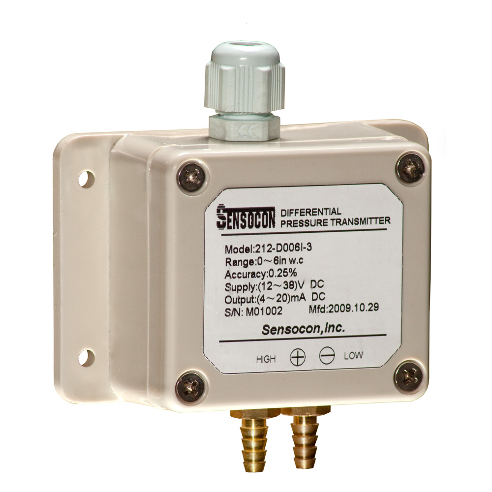 212 Weather-Proof Differential Pressure Transmitter