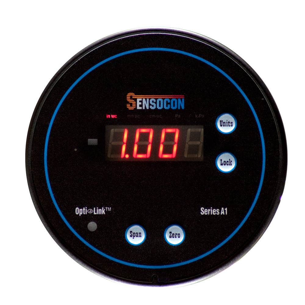 A1 Digital Differential Pressure Gauge