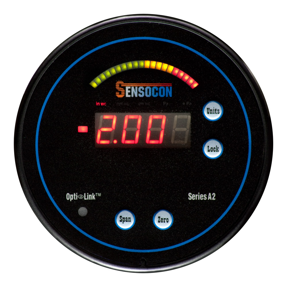A2 Digital Differential Pressure Gauge