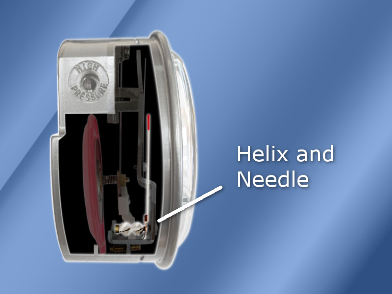 Differential Pressure Gauge Needle